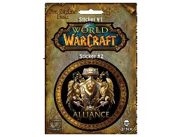 Sticker Jinx: World of Warcraft Alliance