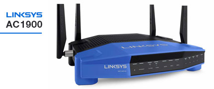 Router Inal�mbrico Linksys AC1900