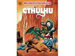 Legends of Cthulhu Coloring Book (ING) Libro
