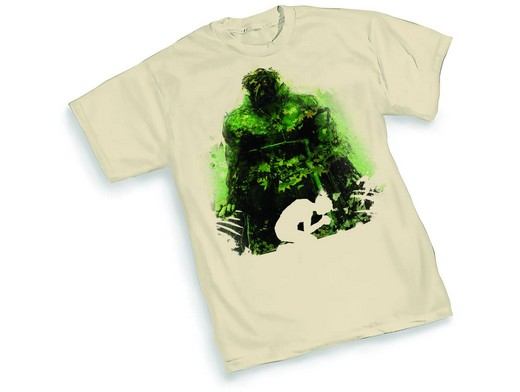 Polera Swamp Thing Silhouette By Jock XXL