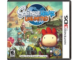 Scribblenauts Unlimited 3DS Usado