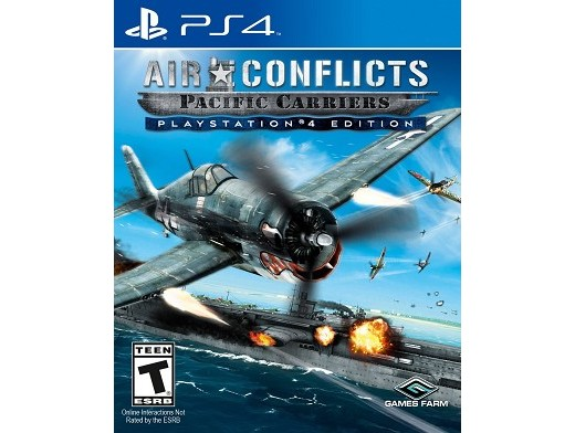 Air Conflicts Pacific Carriers PS4