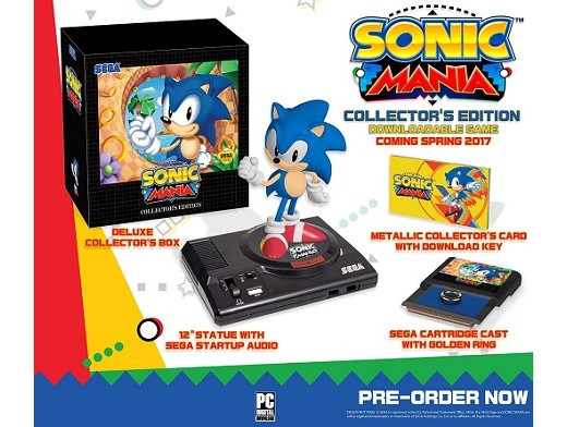 Sonic Mania Collector's Edition PC