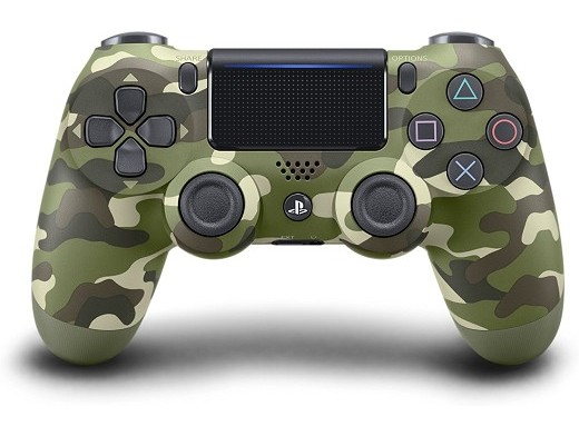 Control Sony DualShock 4 Green Camouflage PS4
