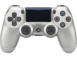 Control Sony DualShock 4 Silver PS4
