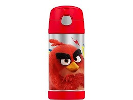 Botella Thermos Funtainer 12oz Angry Birds