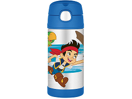 Botella Thermos Funtainer 12oz Jake and Pirates