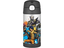 Botella Thermos Funtainer 12oz Star Wars Rebels