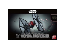 Model Kit First Order Special Forces Tie Fighter