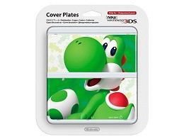 New Nintendo 3DS Cover Plates Yoshi