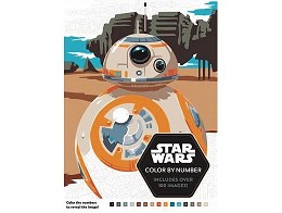 Star Wars Color By Number (ING) Libro