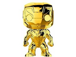 Figura POP Marvel Studios 10 Iron Man Gold Ed