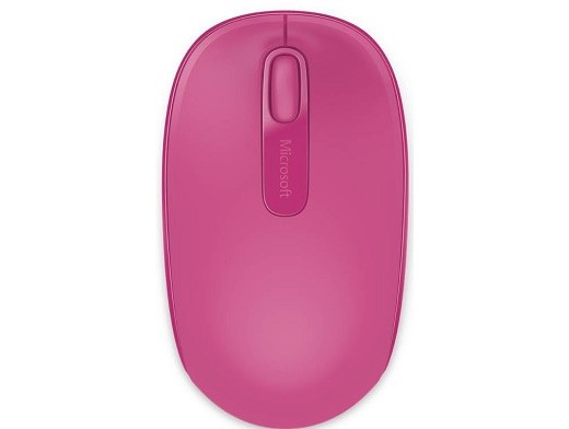 Microsoft Wireless Mobile Mouse 1850 Pink