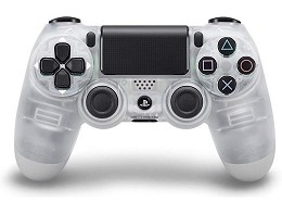 Control Sony DualShock 4 Crystal PS4