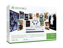 XBOX ONE S 1 TB Starter +Game Pass +Gold (3 meses)