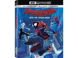 Spider-Man: Into The Spider-Verse (USA) 4K Blu-Ray