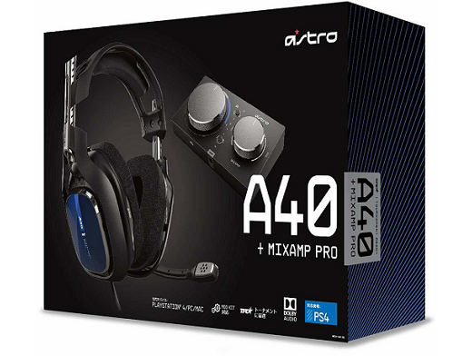 ASTRO Gaming A40 TR Headset + MixAmp PS4